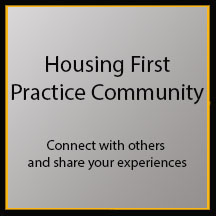 Housing First Practice Community