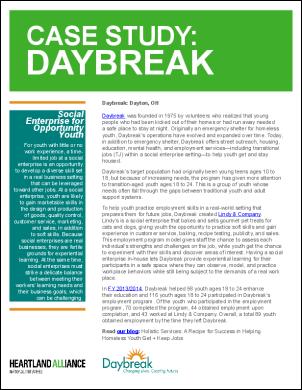 OYE Case Study daybreak