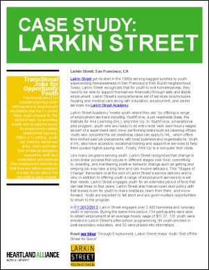 OYE Case Study Larkin Street