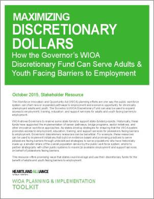 WIOA Resource 1_Maximizing Discretionary Dollars