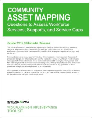 WIOA Resource 5_Community Asset Mapping
