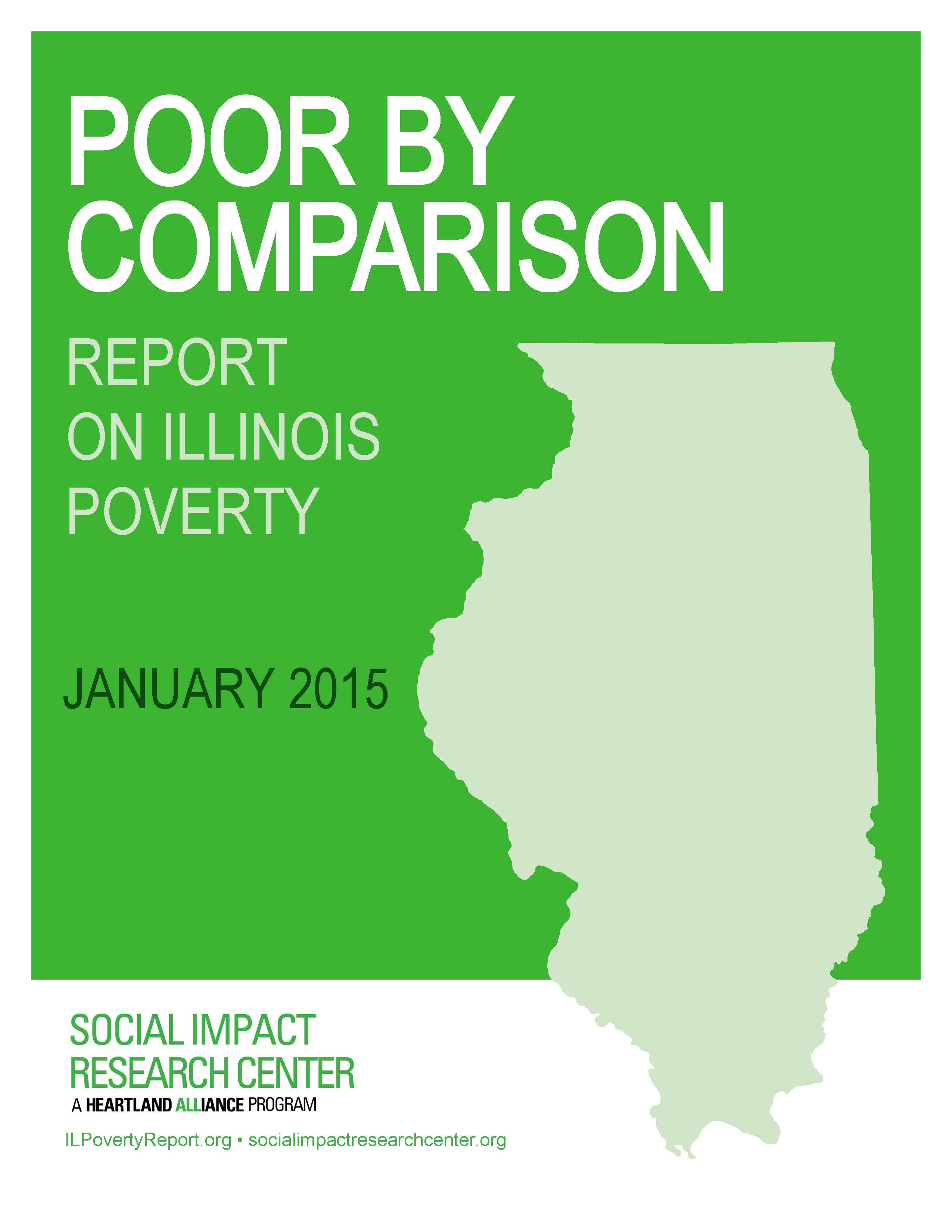 Poverty Report 2015 cover image